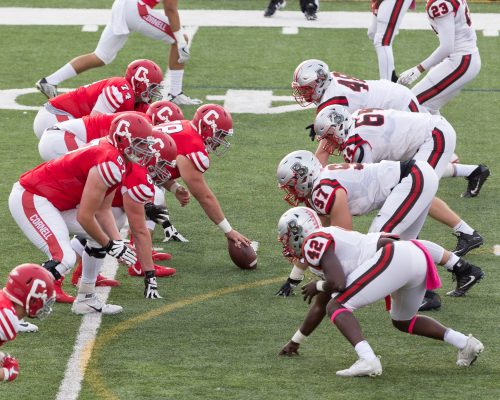 Cornell vs Brown University, Homecoming 2017. Schoelkopf Field, Oct 21, 2017.